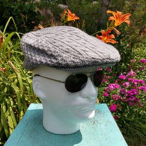 Perry Ellis Men's Flat Cap
